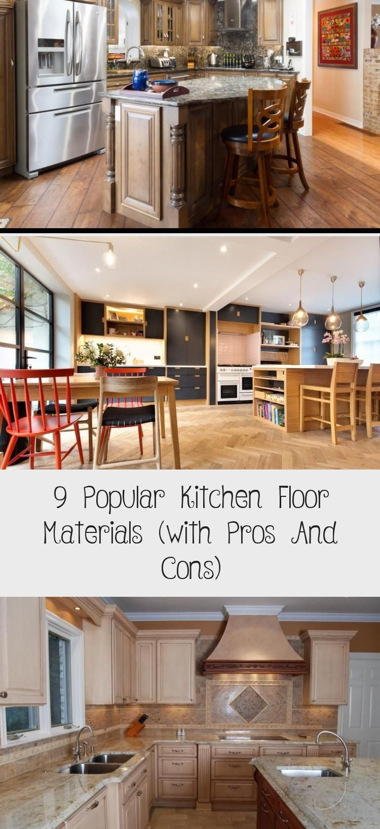 Acquire The Pros And Cons Virtually Alternating Types Of Tile For Your Kitchen Floor From Diy Network Ki In 2020 Kitchen Flooring Flooring Materials Popular Kitchens