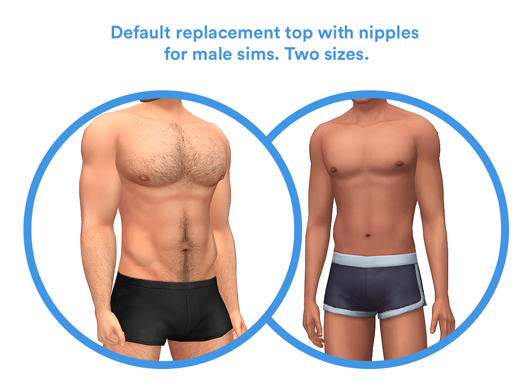 3 New Body Replacements To Improve Your Sim S Appearances Overrides Cas Luamiasims The Sims 4 Skin Sims 4 Body Mods Sims 4 Body Hair