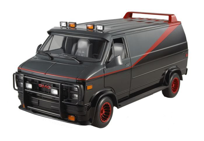 Gmc Vandura Diecast Model Car From The A Team Diecast Model Cars