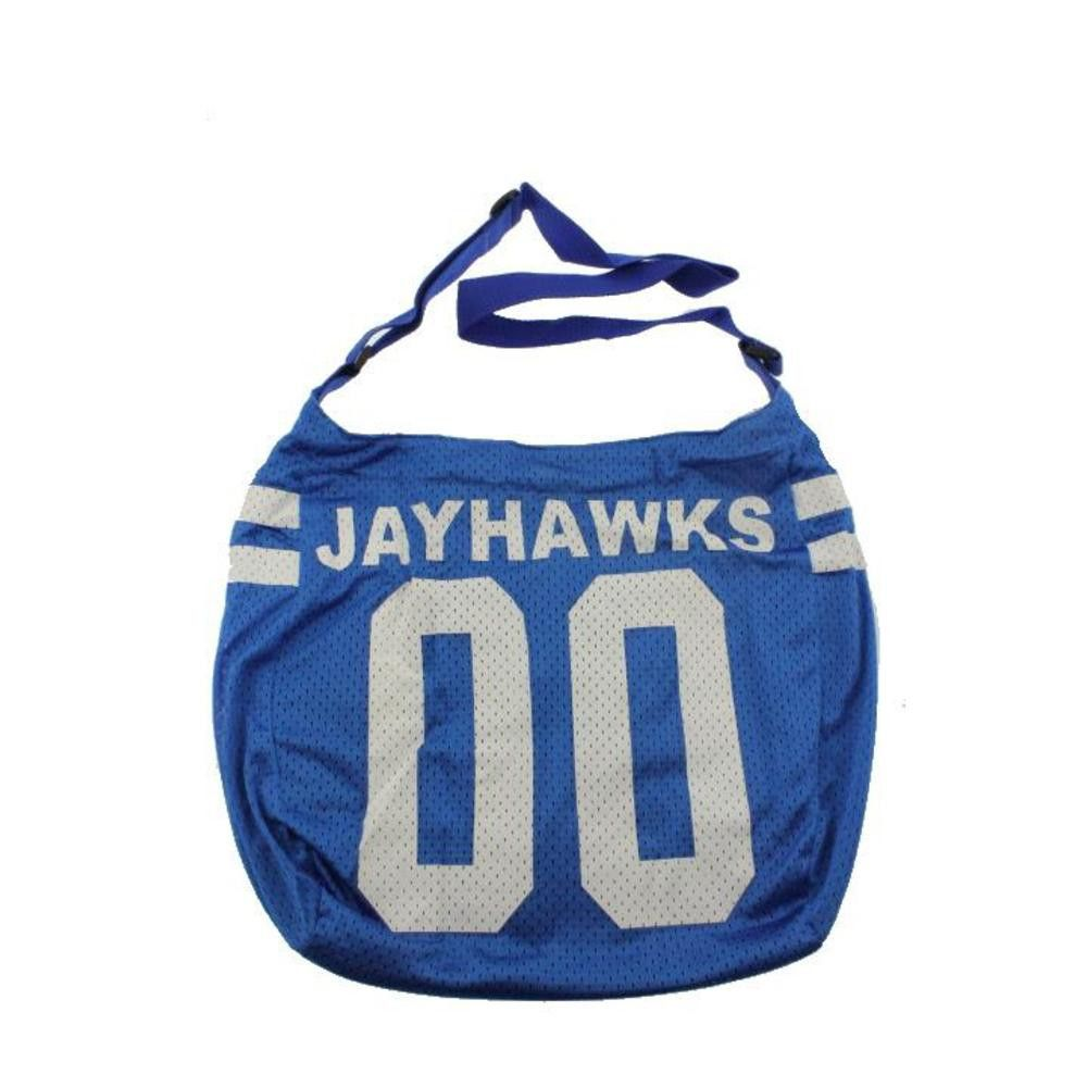 Get Ready Girls Womens Kansas Jayhawks Tricot Hobo Handbag