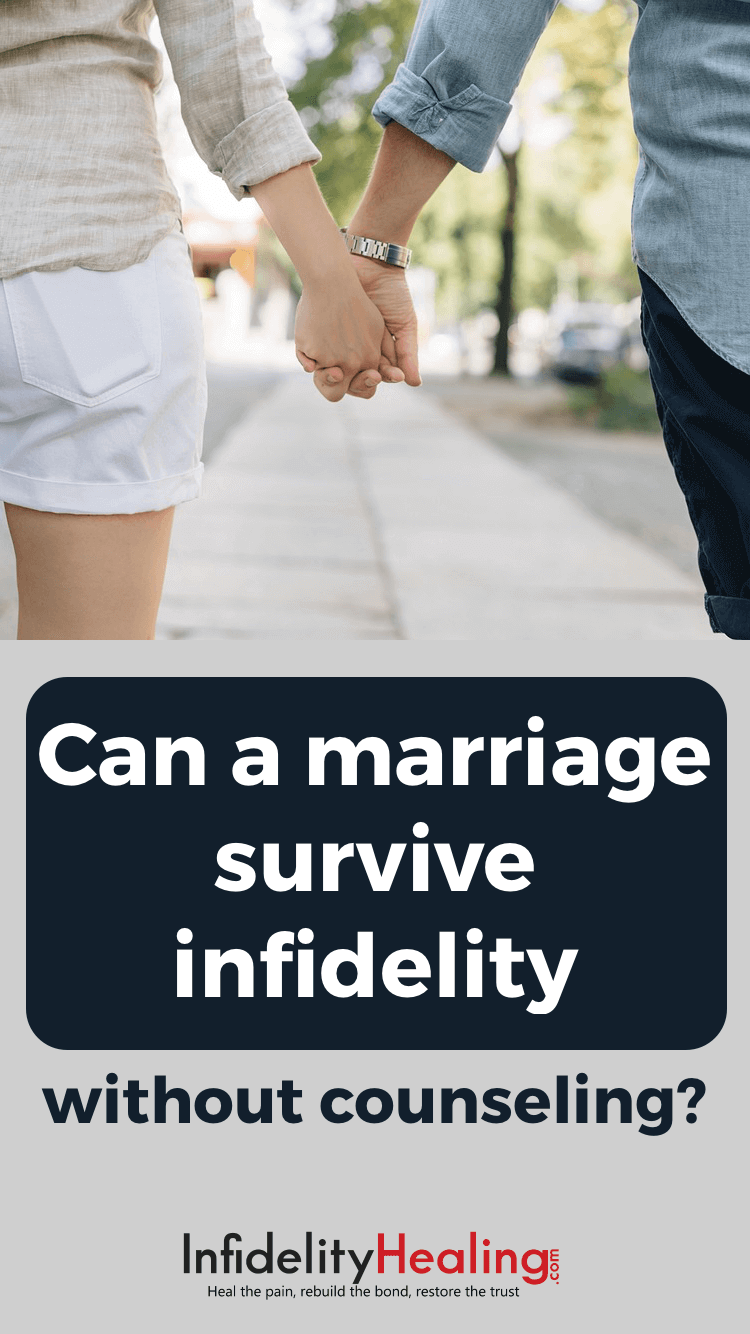 Do marriages survive affairs