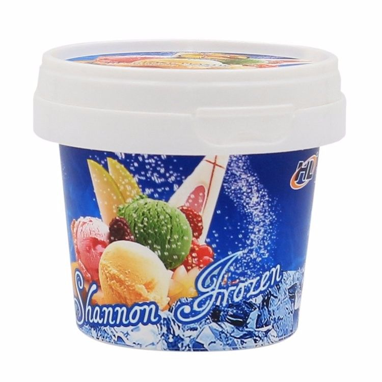 custom made food packaging container 5 oz disposable plastic cup with lid and spoon food packaging food to make ice cream tubs custom made food packaging container 5
