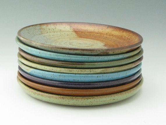 Pottery Dinner Plate Made To Order Singles Stoneware 10 Inch Coupe Main Entree Plate Wheel Thrown Ceramic Platter Your Pottenbakken Keramiek Ideeen Keramiek