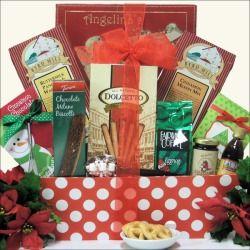 Great Arrivals Jolly Christmas Morning Breakfast Gift Basket