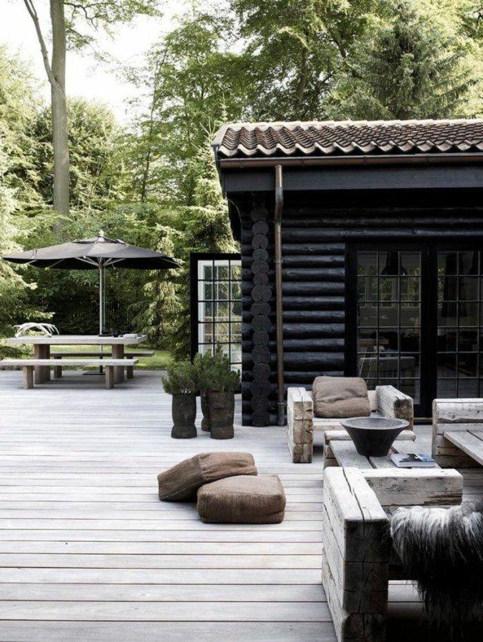 Chaque Maison A Besoin Du0027un Jardin Avec Une Pelouse Verte. Donc Dans La  Galerie Ci Dessous, On Va Montrer Des Variantes Pour Comment Aménager Sa  Terrasse!!!