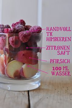 Himbeer Pfirsich Smoothie