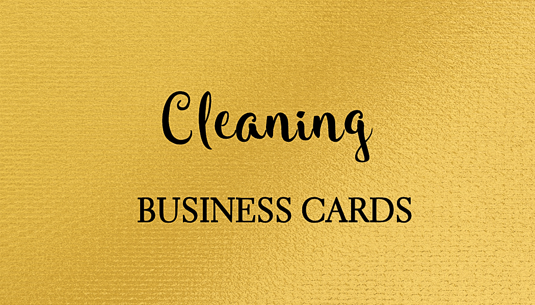 A collection of girly cleaning services business cards for those in housekeeping and house cleaning businesses.