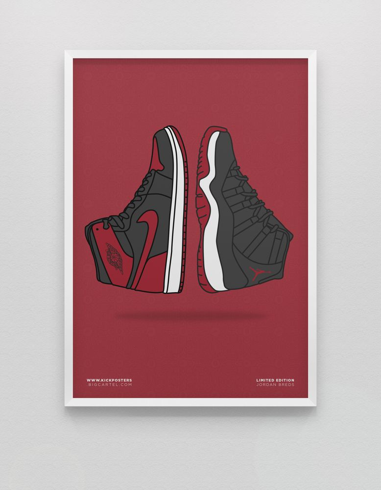 34425796271c0 Double Bred Poster by KickPosters.com
