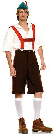 Traditional Rutger Lederhosen Bavarian Costume Oktoberfest Beer Costume