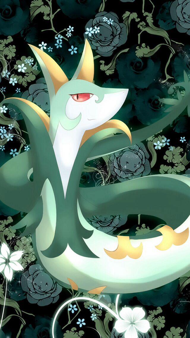 Serperior | Pokemon, Wallpaper, Pokemon art