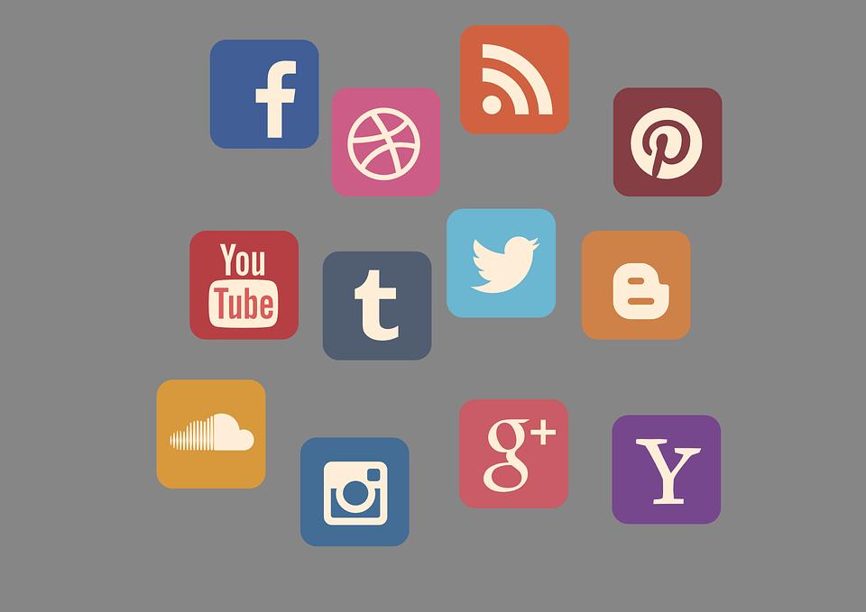 Free Image On Pixabay Icon Set Social Media Contact Marketing Strategy Social Media Social Media Marketing Marketing Goals