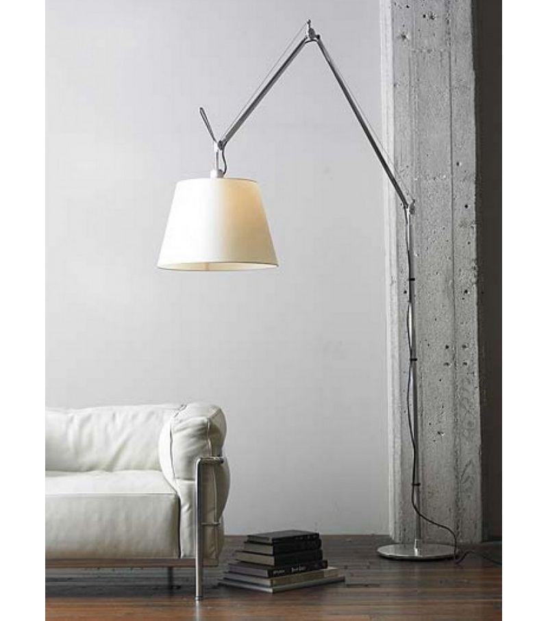 Tolomeo Mega Floor Lamp Artemide Milia Shop Floor Lamps Living Room Floor Lamp Bedroom Indoor Floor Lamps