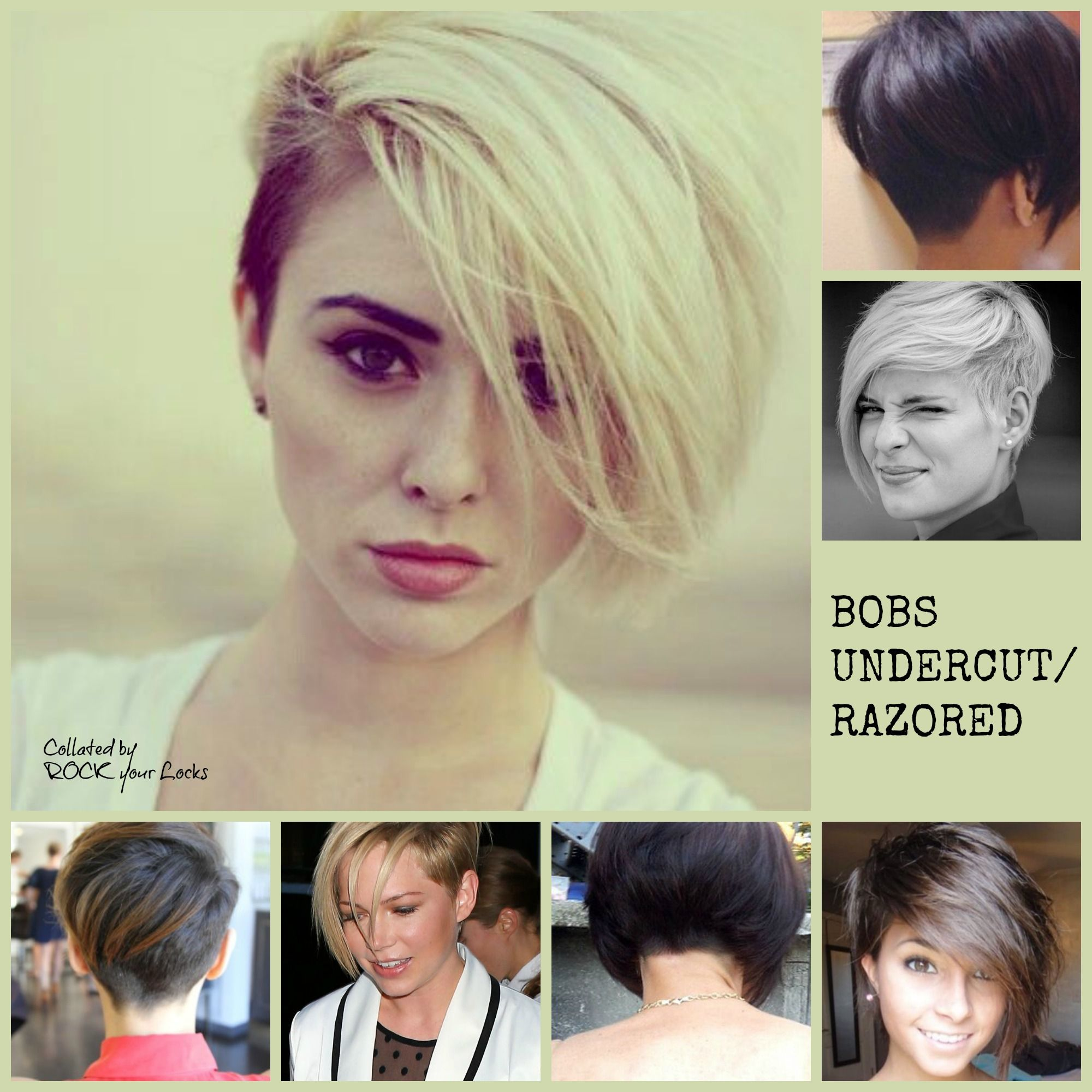 razored/undercut bobs | * hair ~ makeup * | pinterest | undercut