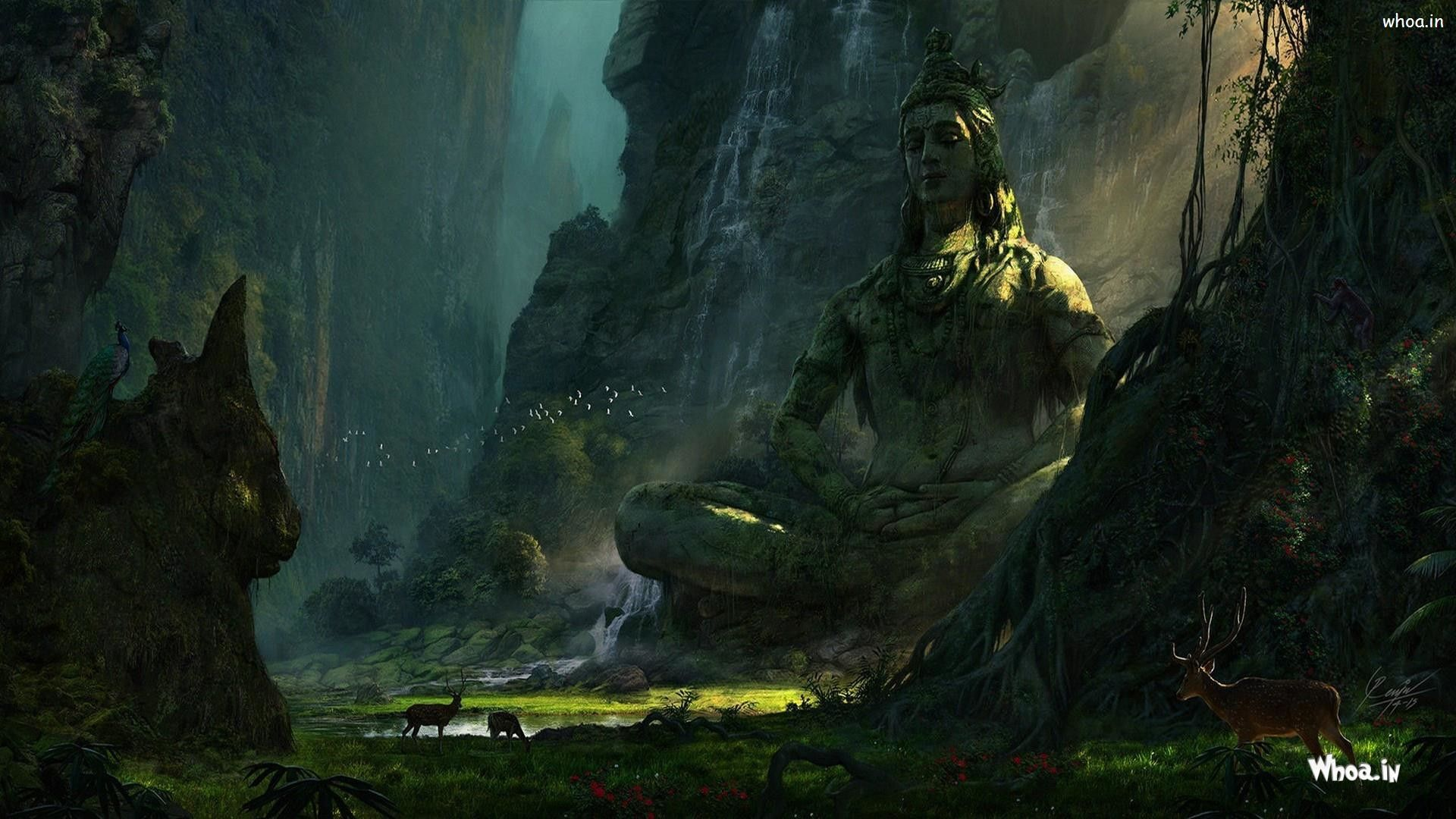 Pin By Andyroid 2 0 On Indian Gods Shiva Wallpaper Lord Shiva Fantasy Landscape