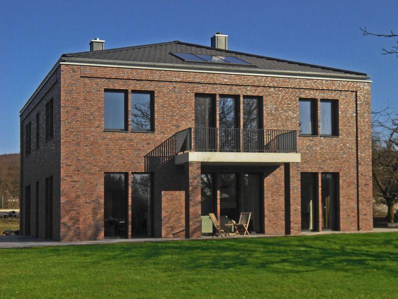Einfamilienhäuser aus Backstein | Architektur haus design