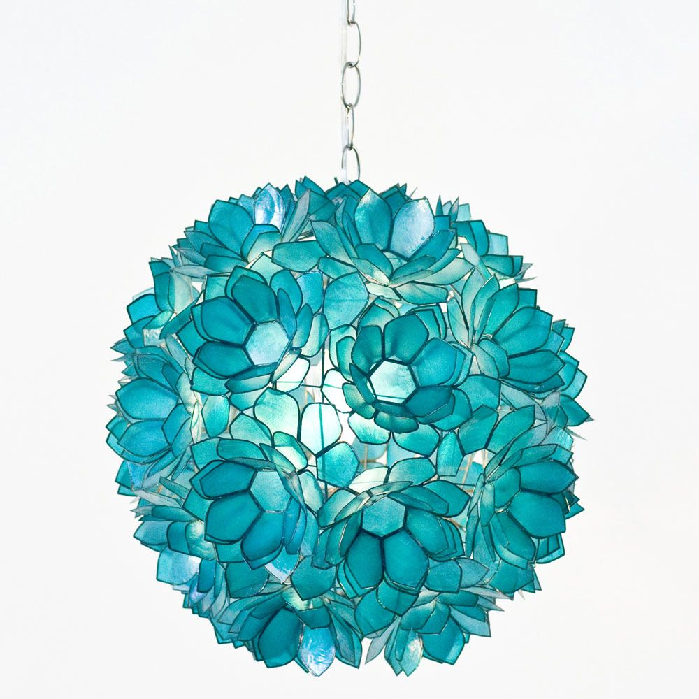 turquoise pendant lighting. Love The Turquoise Hanging Light For A Accented Kitchen. Worlds Away Venus Pendant Capiz Shell Floral WAVENUST. Lighting 3