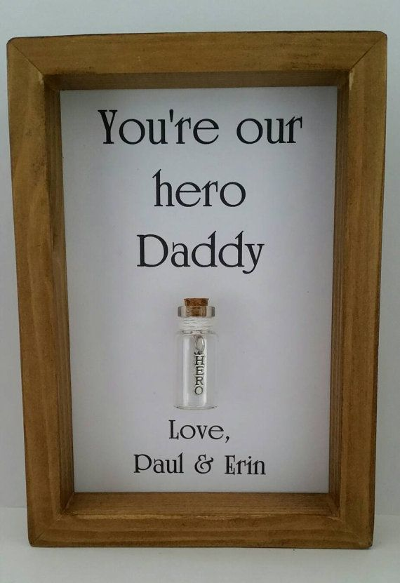 Daddy Hero Gifts Fathers Day Dad Solider Gift Ideas Birthday Father You Are My Add Names Or Your Own Message