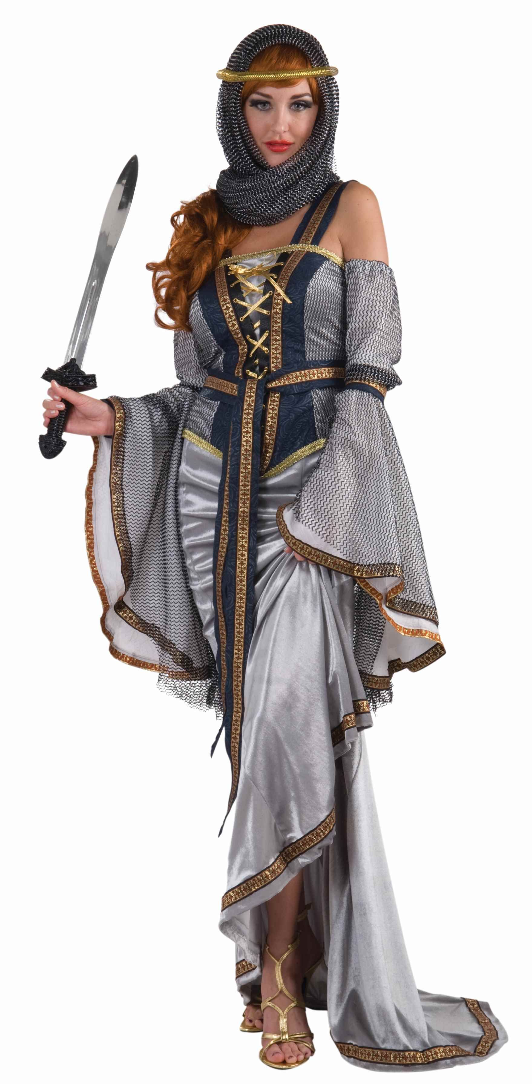 Lady Of The Lake Medieval Women Deluxe Halloween Costume ...