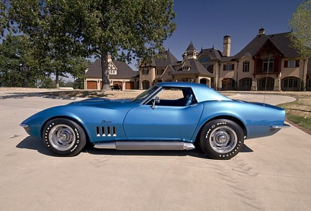 69 Corvette Stingray With Side Exhaust Cars Corvette General