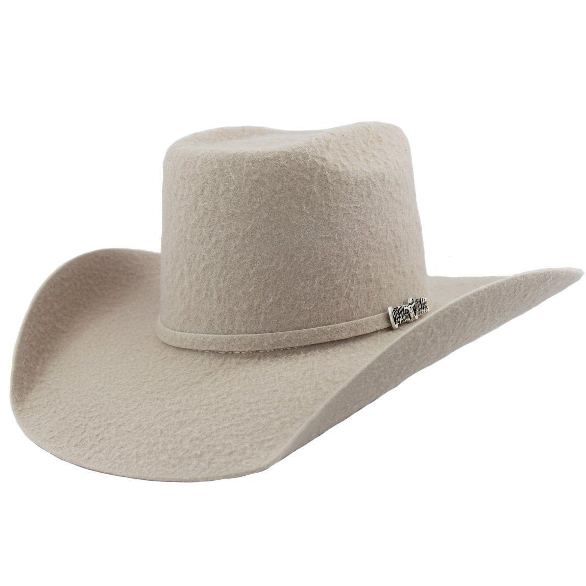a64260ea489 Cuernos Chuecos 10x Silver Belly Grizzly Brick Crown Cowboy Hat in ...