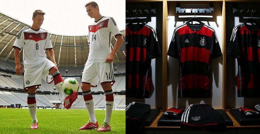 Germany's jerseys 2014