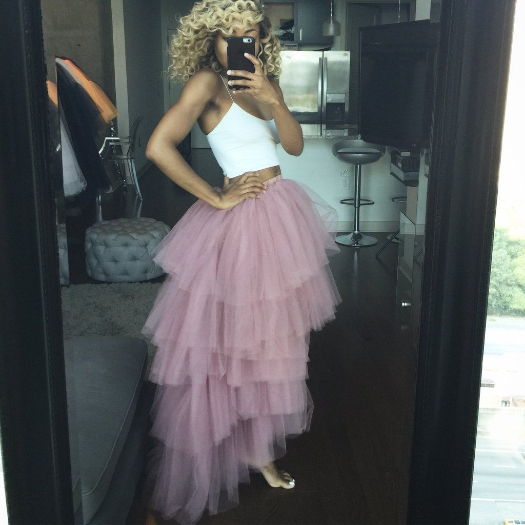 329ab40b20 Mauve Pink Orchid tulle skirt in 2019 | Olivia | Pink tulle skirt ...