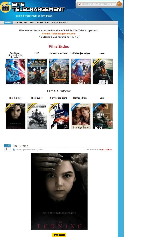 Site Telechargement De Film Gratuit в 2020 г