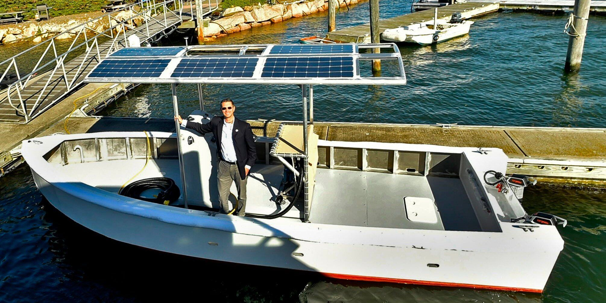 Idealmagnetsolutions On Electric Boat Boat Solar Power