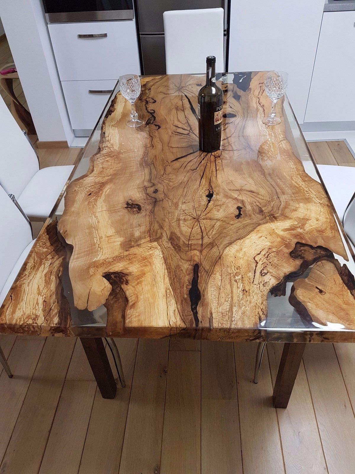 Unique 6 Person Epoxy Resin Table In Home Amp Garden Furniture