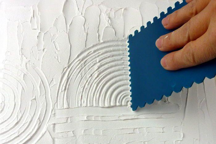 Photo of Reliefartige Oberflächen mit Leichtstrukturpaste | Mein Herz sagt Kunst