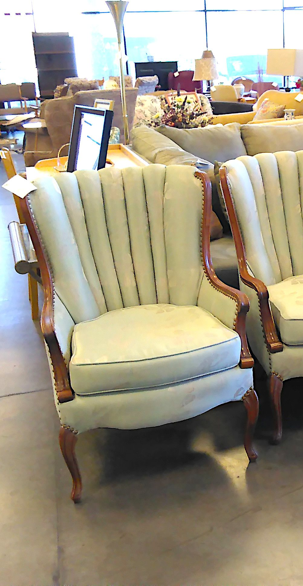 Victorian shell back chairs found at our Greenfield Rd and Main St location in Mesa, AZ. #VintageFurniture #AntiqueFurniture #MesaAZ