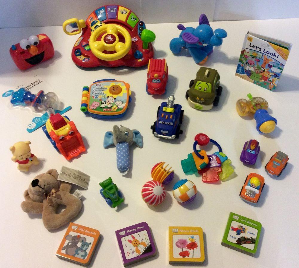 Baby Toddler Developmental Learning Toy Lot Vtech Fisher