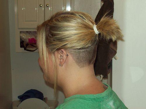 100 0328 Undercut Hairstyles Shaved Hair Hair Styles