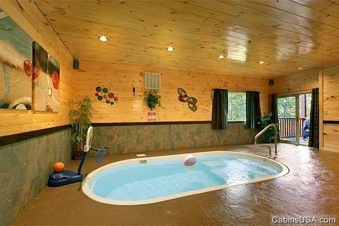 Hickory Splash Cabin Rental Cabin Rentals Vacation Cabin Rentals Indoor Outdoor Pool