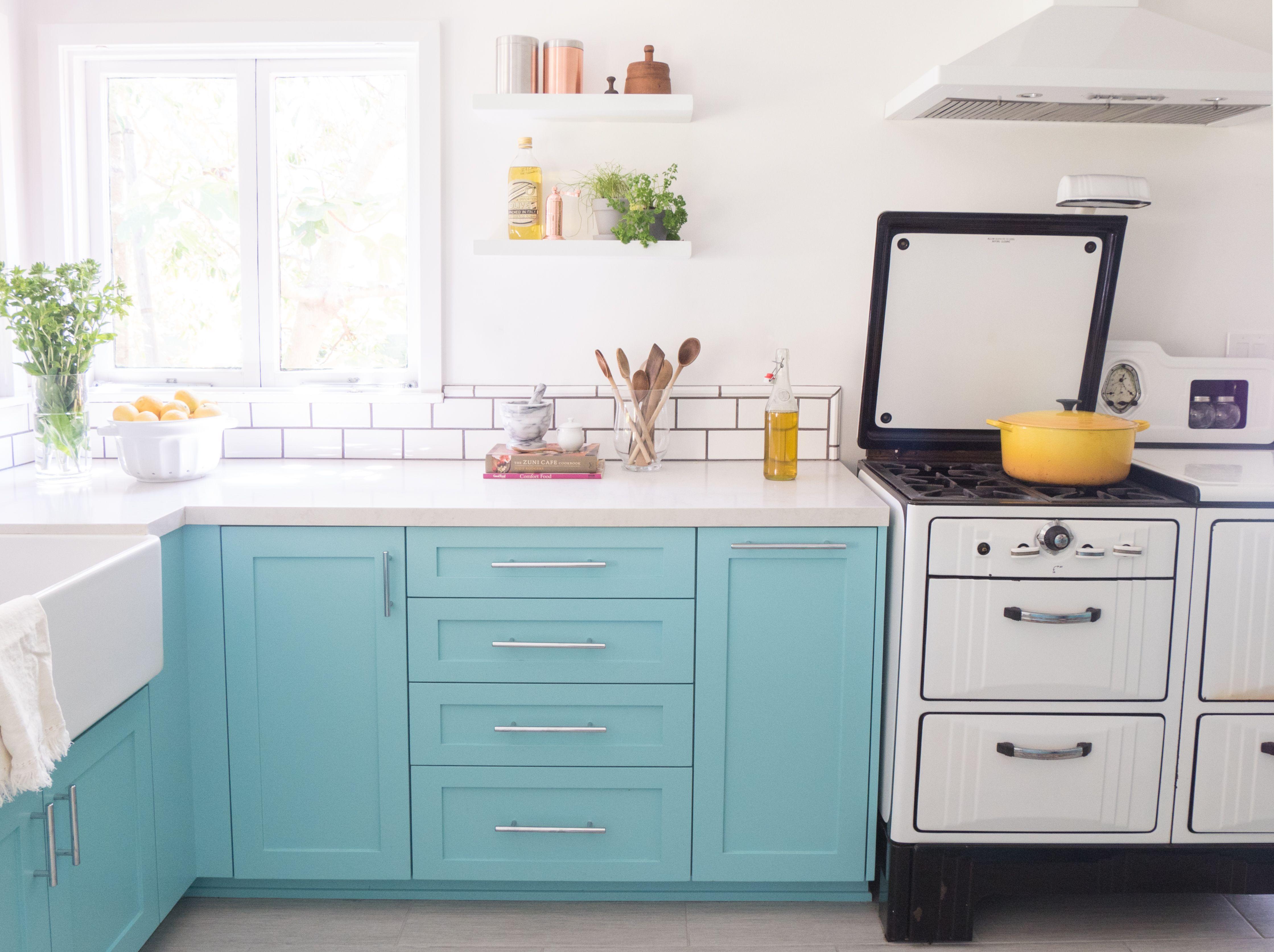 A 1920s Kitchen Gets Bright Modern Makeover