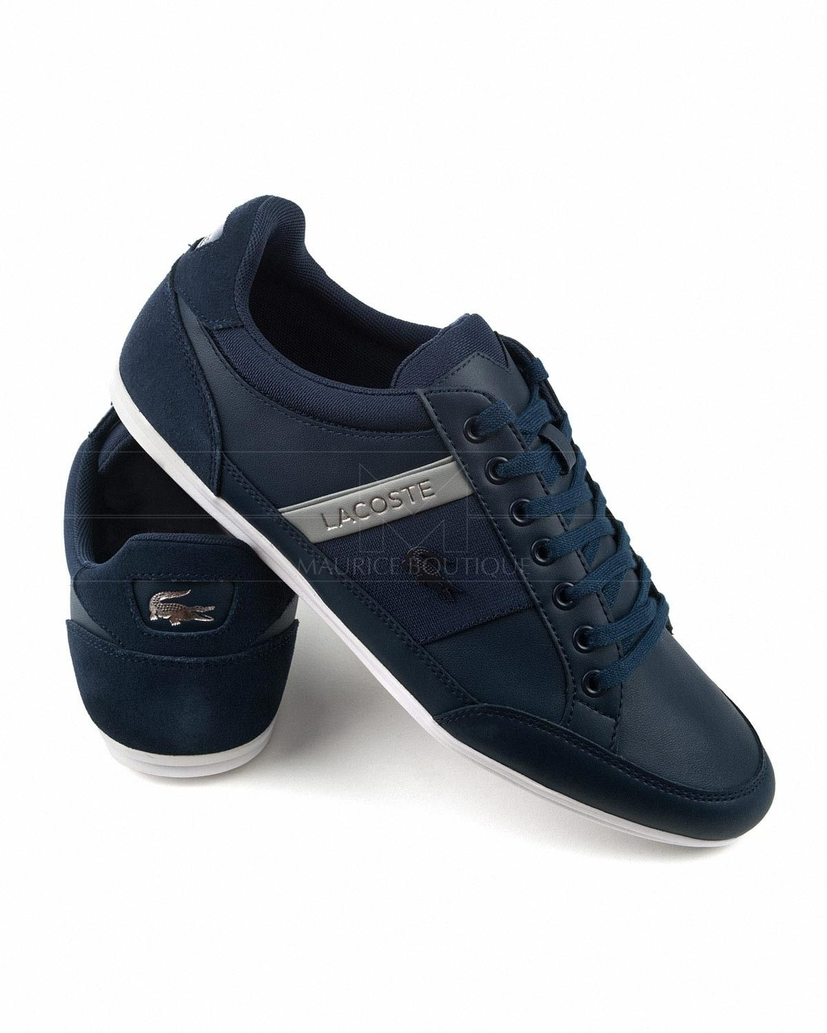 9953c3e0be Lacoste Trainers Chaymon - Navy Blue in 2019 | Man style | Lacoste ...