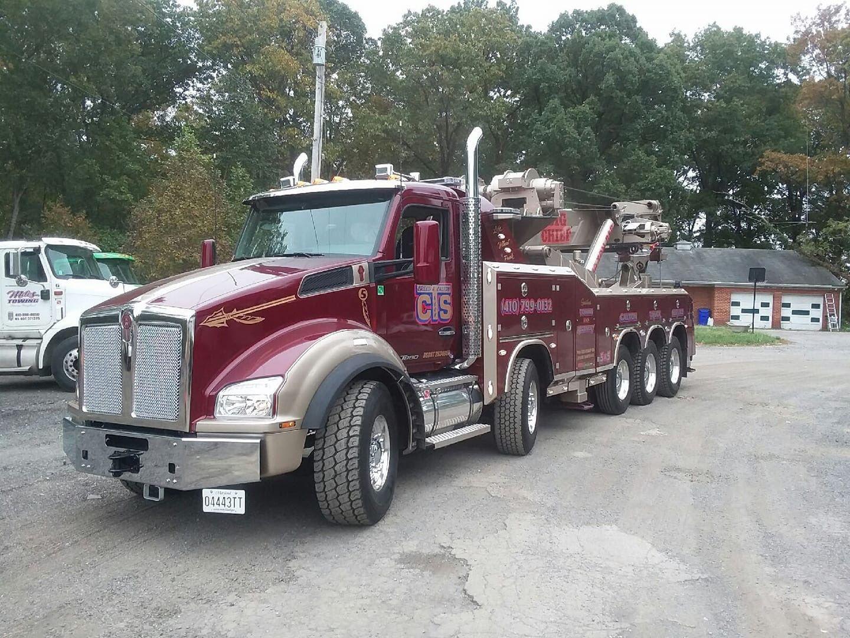 Calton Truck Service, Jessup MD - Kenworth T880 w/ B&B 70 ton ...