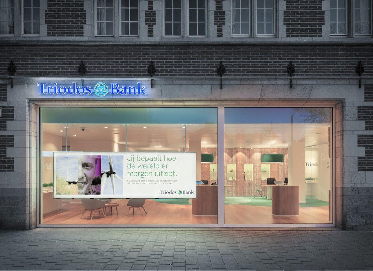 Triodos Bank S First Physical Branch Work Pinkeye Designstudio Pinkeyedesign Bank Design Branch Design Design