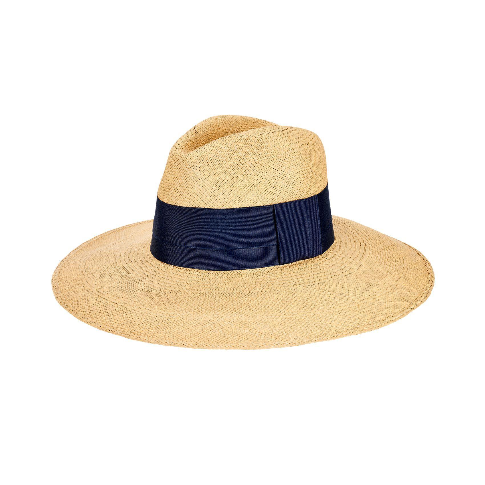 878023df3c382 Handmade in Ecuador from 100% Toquilla straw Shape   Clasico  wide-brim  Panama hat Brim size  4
