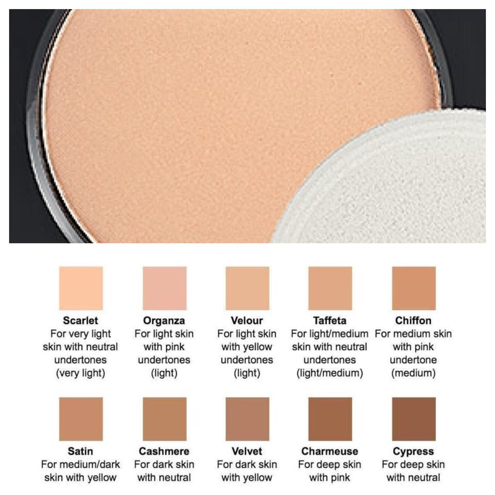 Younique Makeup Color Chart Dat Night