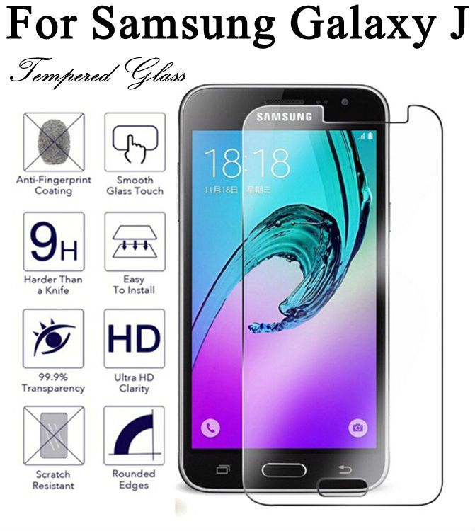 Hot New Design Protective Glass For Samsung A3 5 7 J3 5 7 2015 2016 Tempered Glass Film For Samsung Galaxy 9h Hardness 2 5d Samsung Galaxy Samsung Film