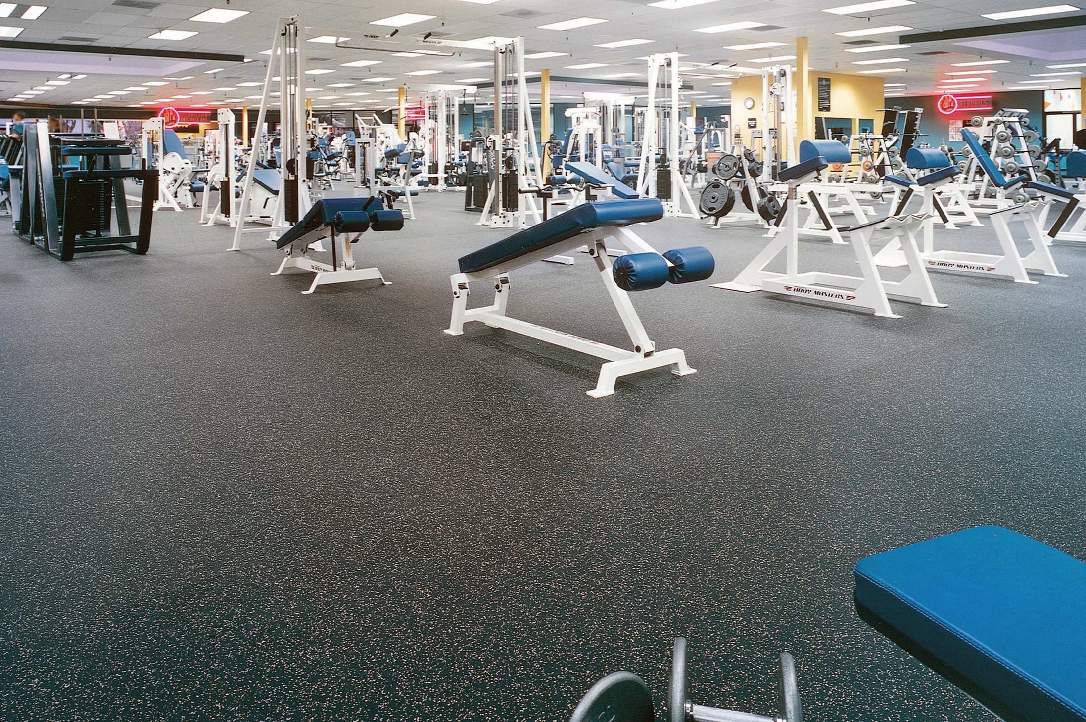 Rubber sports flooring rubberdeck rubber sports floors in rolls rubberized gym floor tiles ceramic or porcelain tile flooring is very durable as well as an excellent investment in your h dailygadgetfo Image collections