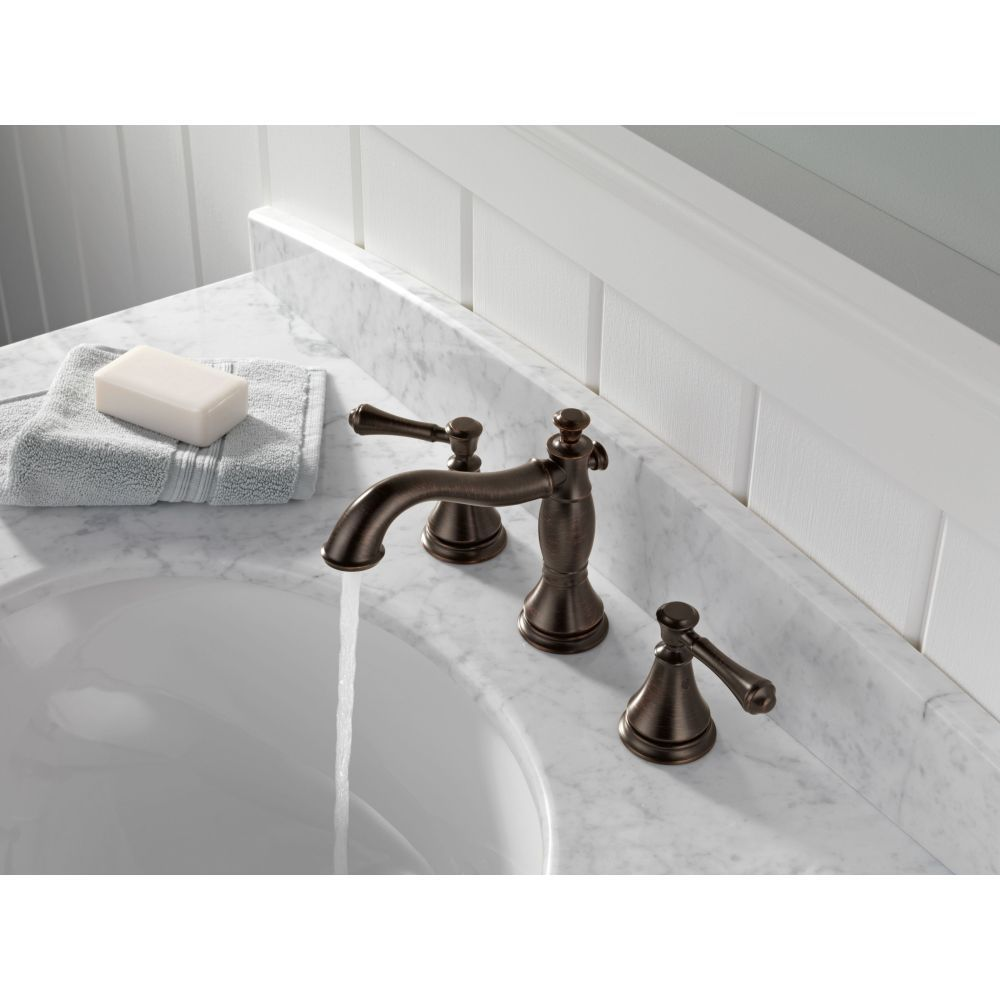 Delta Faucet 3597lf Rbmpu Cidy Two Handle Widespread Bathroom W Metal Pop Up Drain Venetian Bronze Efaucets