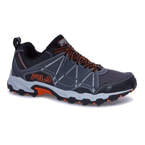Fila™ Men's AT Peake 17 Hiking Shoes (GreyOrange, Size 8.5
