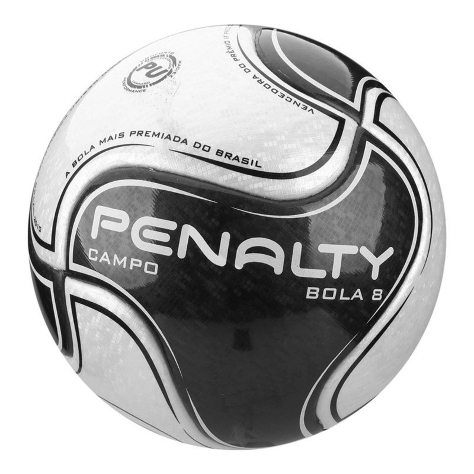 Bola De Futebol Campo Penalty 8 Ix Branco Futebol Esportes E