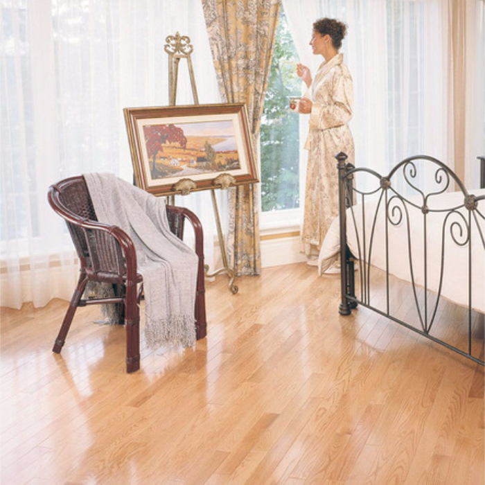 "Red Oak Hardwood Flooring Mercier Select 3/4"" Red Oak"