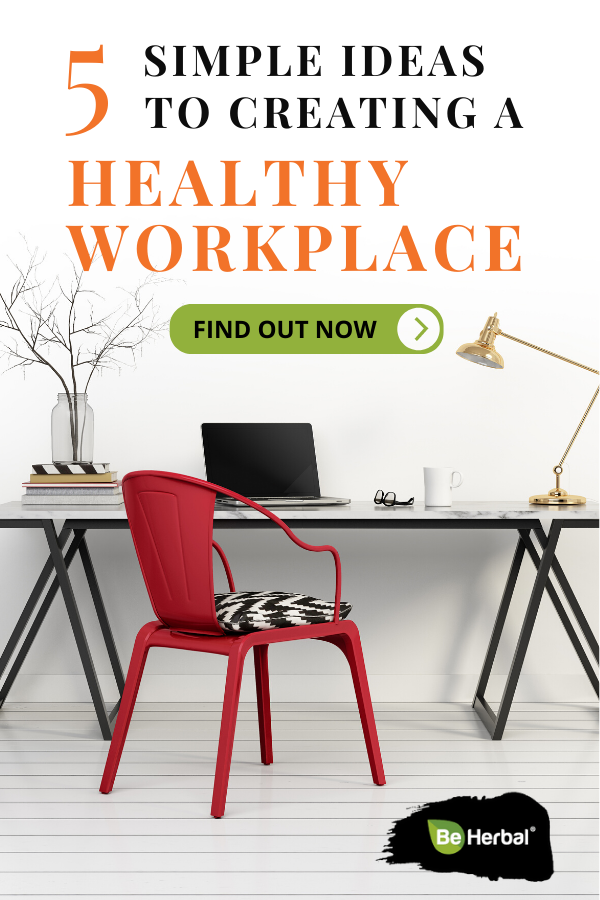 Once you know where you stand, you can make positive changes. All of these are very simple and able to be implemented in most workplaces. So how can you make your workplace a healthier place? Learn simple tips in this post. #healthyworkplaceideas #holistichealth #healthylifestyletips