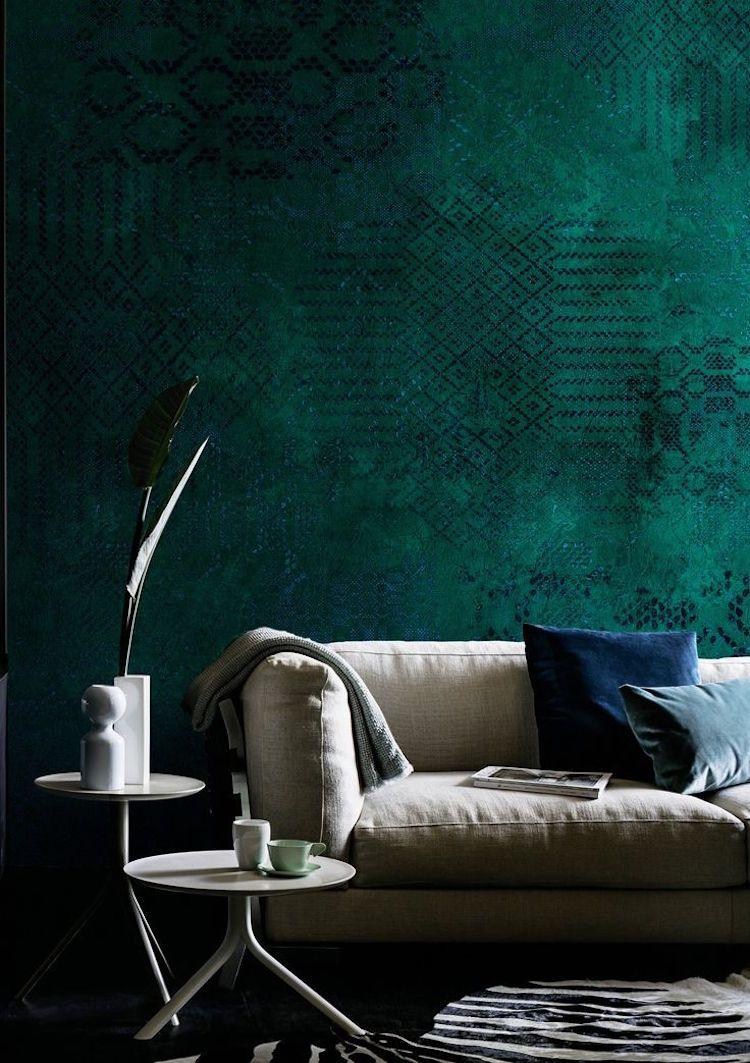 Peinture Salle De Bain Vert Emeraude | Les Gerard