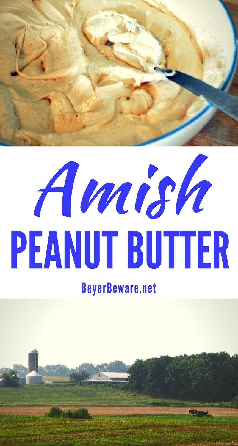 Amish peanut butter recipe is the sweet combination of marshmallow amish peanut butter recipe is the sweet combination of marshmallow fluff peanut butter honey forumfinder Images