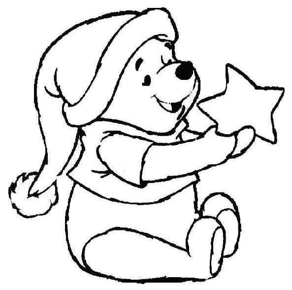 Winnie The Pooh Ausmalbilder Ausmalbilder Malvorlagen Winnie Puuh Weihnachten